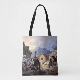 Norway Family Tote Bag