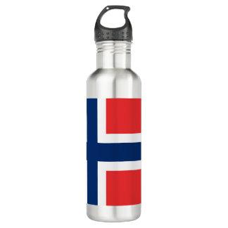 Norway Flag 710 Ml Water Bottle