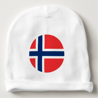 Norway Flag Baby Beanie
