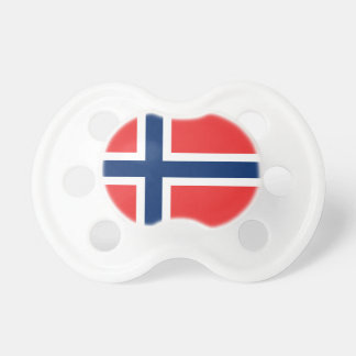 Norway flag baby pacifier | Cute baby shower gift