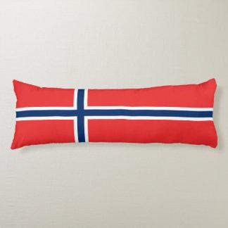 Norway Flag Body Pillow