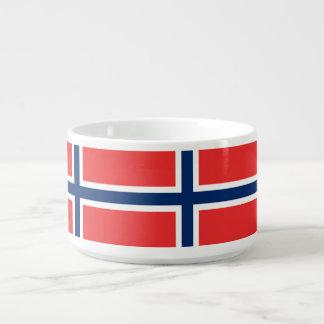 Norway Flag Bowl
