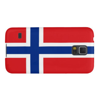 Norway Flag Case For Galaxy S5