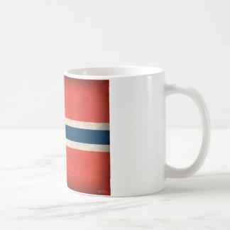 Norway Flag Distressed Mug