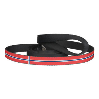 Norway Flag Dog Lead