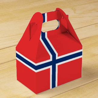 Norway Flag Favor Box