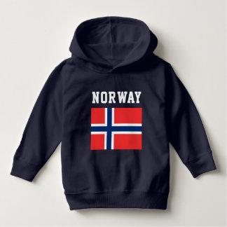 Norway Flag Hoodie