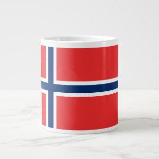 Norway Flag Large Coffee Mug