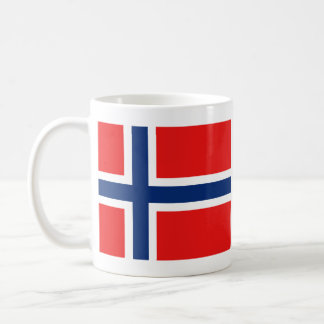 Norway Flag ~ Map Mug
