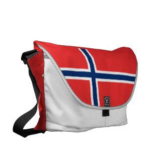 Norway Flag Messenger Bag