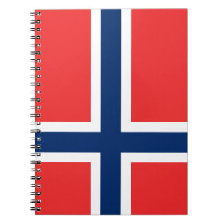 Norway Flag Notebook