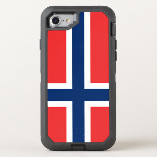 Norway Flag OtterBox Defender iPhone 8/7 Case