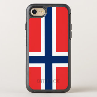 Norway Flag OtterBox Symmetry iPhone 8/7 Case