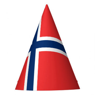 Norway Flag Party Hat