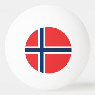 Norway Flag Ping Pong Ball