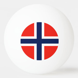 Norway Flag Ping-Pong Ball
