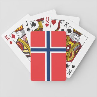 Norway Flag Playing Cards