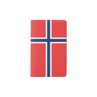 Norway Flag Pocket Moleskine Notebook