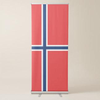 Norway Flag Retractable Banner