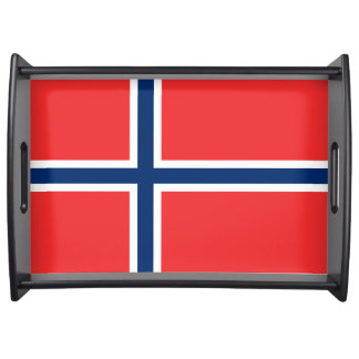 Norway Flag Serving Tray