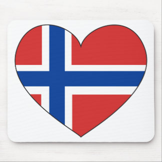 Norway Flag Simple Mouse Pad