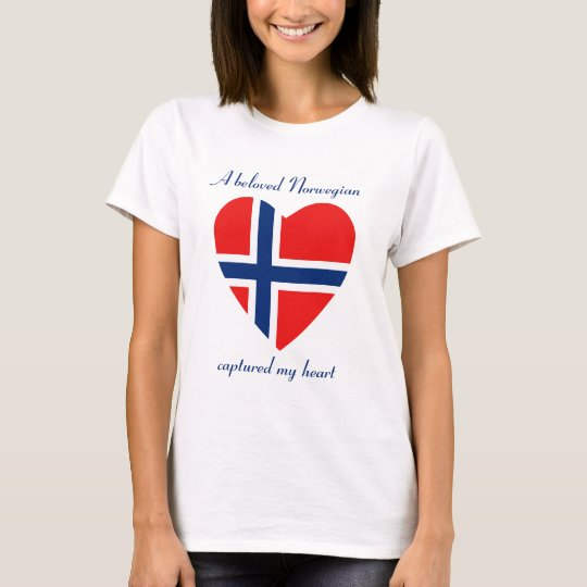 Norway Flag Sweetheart T-Shirt