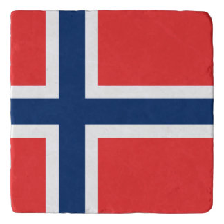 Norway Flag Trivet
