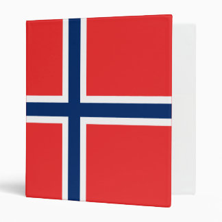 Norway Flag Vinyl Binders