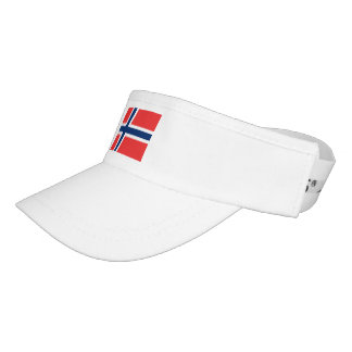 Norway Flag Visor