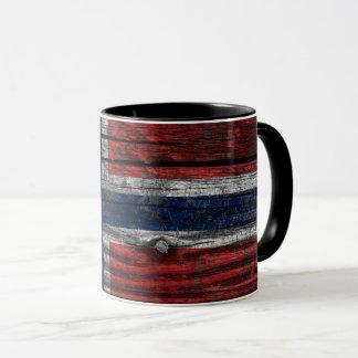 Norway grunge flag mug