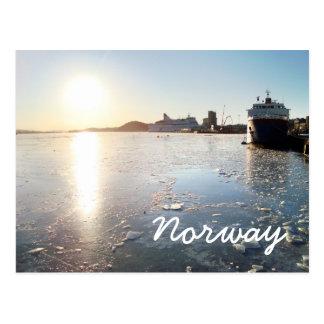 Norway Ice Postcard