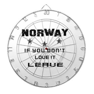 Norway If you don't love it, Leave Dart Boards
