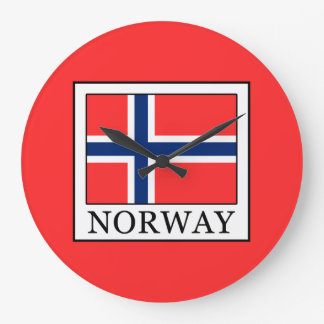 Norway Large Clock