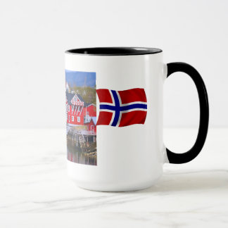 Norway, Livi,g by the fjord Mug