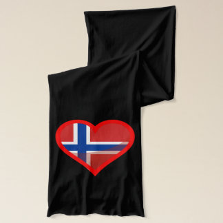 Norway love scarf