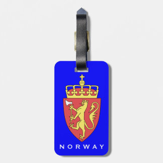 Norway Luggage Tag   Norge bagasje Tag