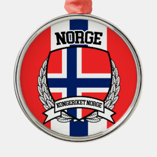 Norway Metal Ornament
