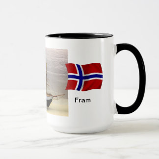 "Norway, Model of Nansen's ship ""Fram"" Mug"