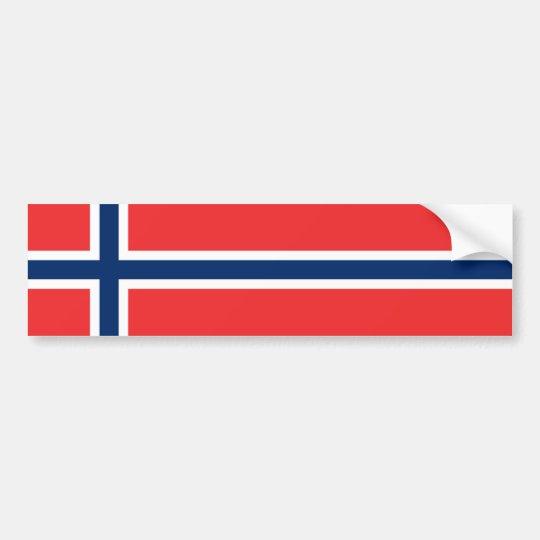 Norway - Norwegian Flag Bumper Sticker