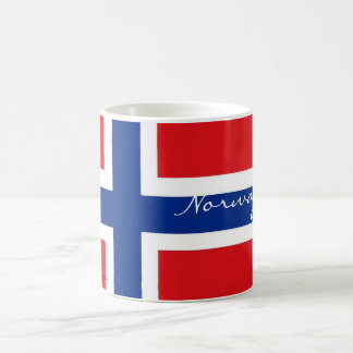 Norway norwegian flag souvenir mug