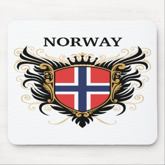 Norway personalize mouse mat
