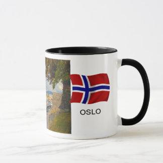 Norway,Port of Oslo; harbour Mug