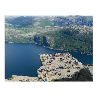 Norway - Preikestolen Postcard