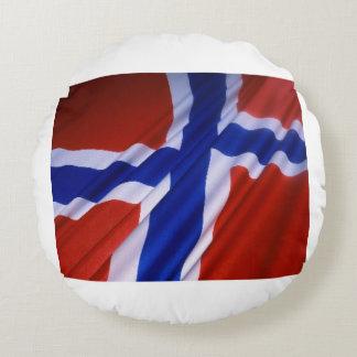 Norway Round Pillow