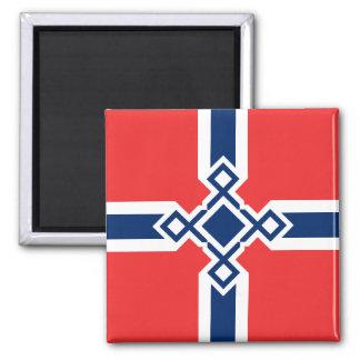 Norway Rune Cross Magnet