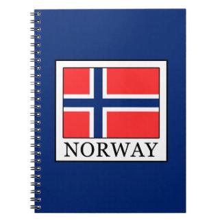Norway Spiral Notebook