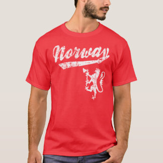 Norway Sporty Style T-Shirt