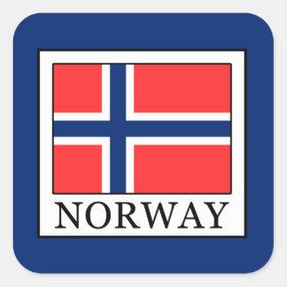 Norway Square Sticker