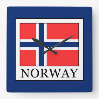 Norway Square Wall Clock