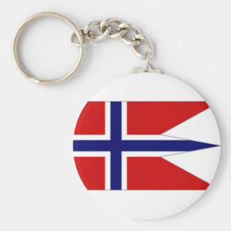 Norway State Flag Keychain